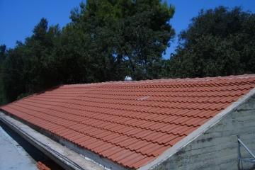 """גגות רעפים – החלפה וחידוש. בי""""ס ויצמן, בית יהושע."""